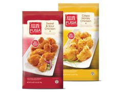 A stock image of Fusia Sweet and Sour Chicken, from Aldi