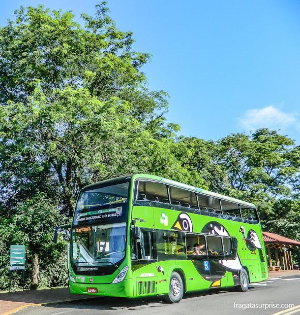 Ônibus do Parque Nacional das Cataratas do Iguaçu