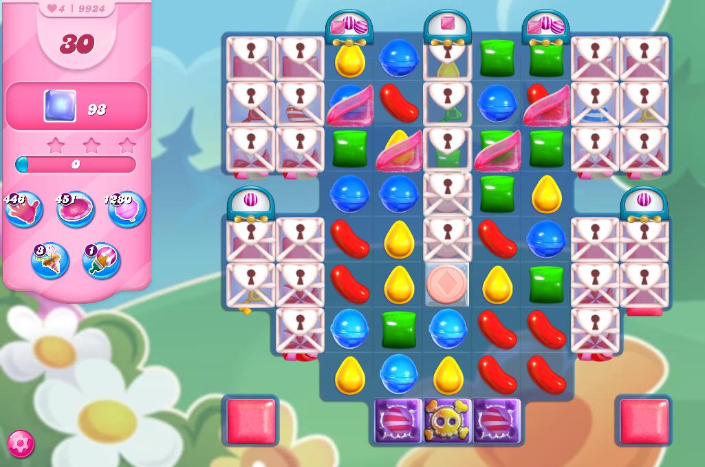 Candy Crush Saga level 9924