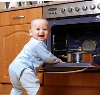 mutfak kazaları çocuk