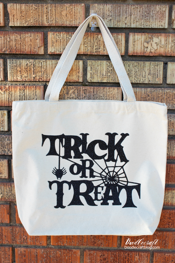 Doodlecraft Trick Or Treat Halloween Loot Bag