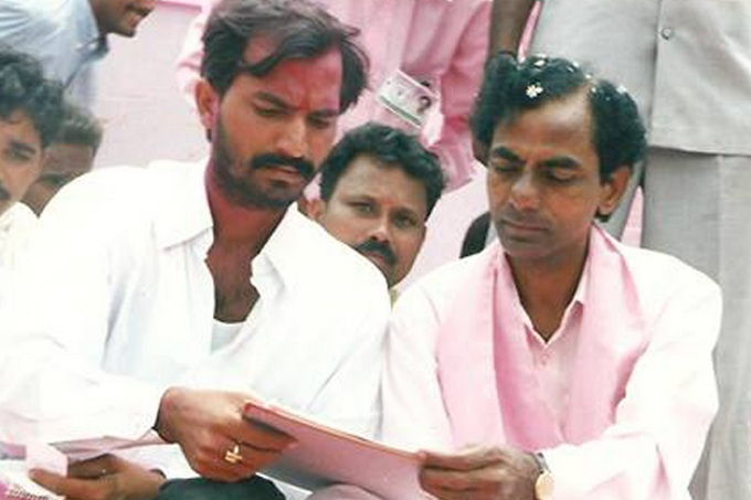 K.C.R. initially started his career in Medak District with Congress Party. Though Congress was in bad position under Sanjay Gandhi leadership, he stood with them.