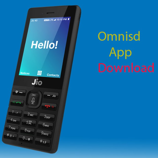 Omnisd app download for jio phone JIo F90m, F220b