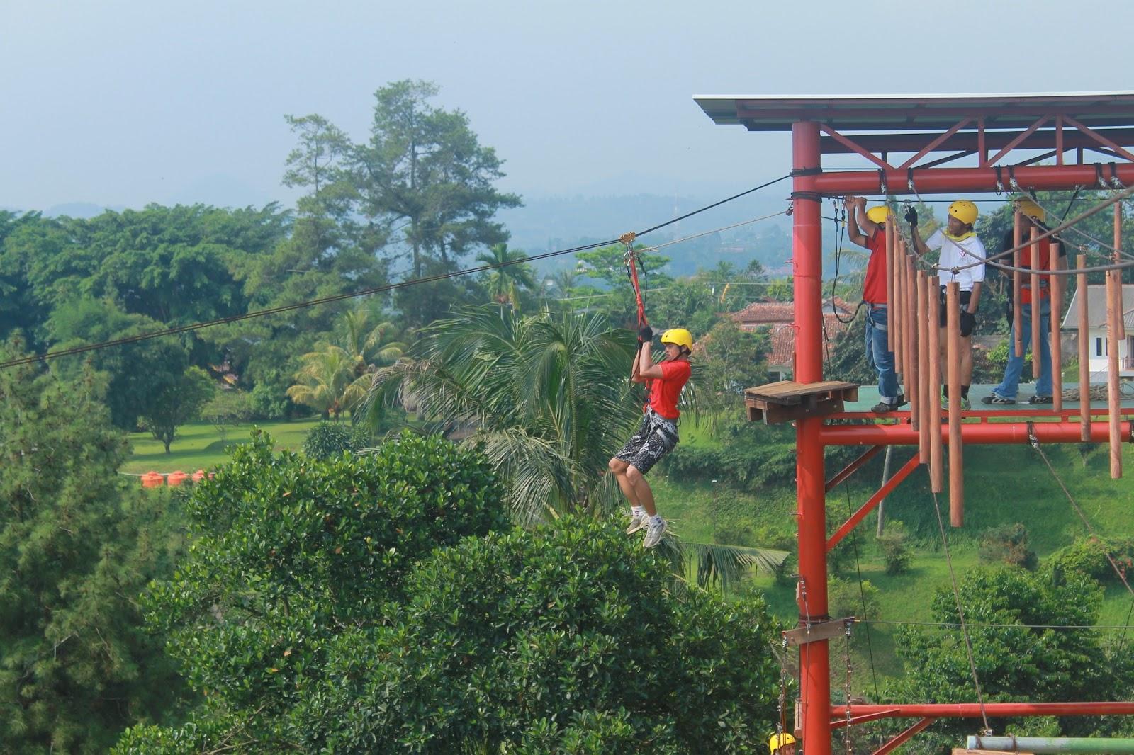 Tempat Wisata Outbound Bogor Tempat Wisata Indonesia