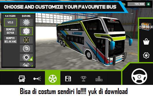 Download Mobile Bus Simulator MOD APK v1.0.2 Unlimited Money