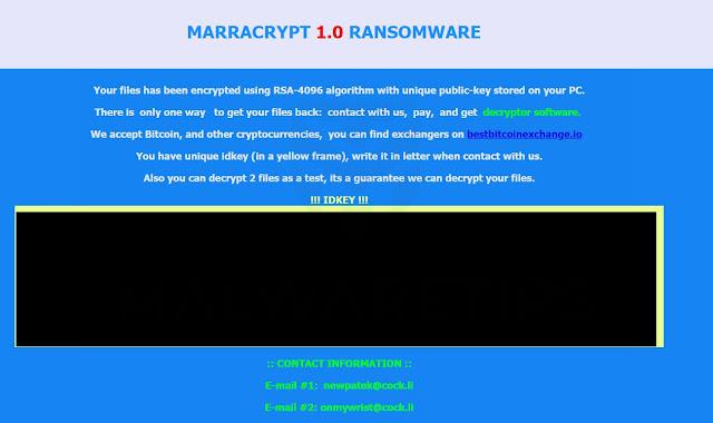 MARRACRYPT (Ransomware)