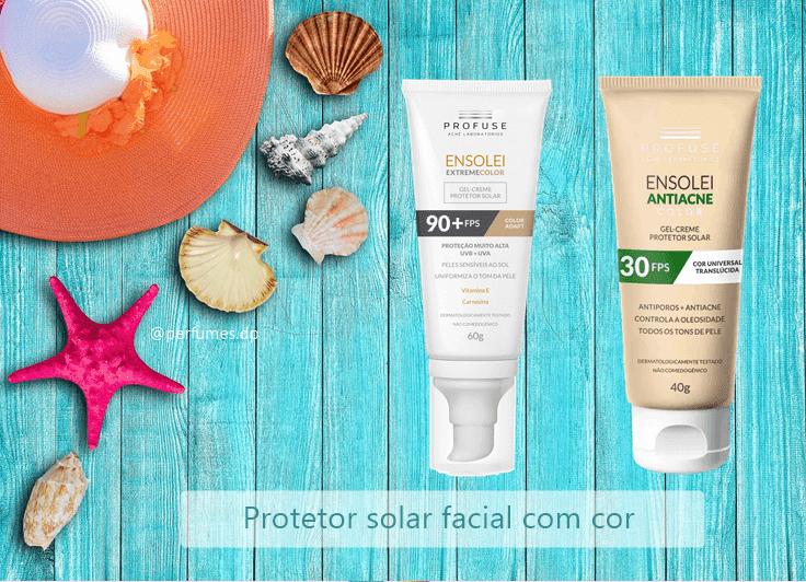 Protetor Solar Profuse Ensolei facial