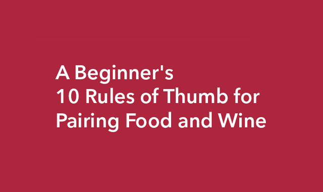 Most scrumptious ways to pair wine and food