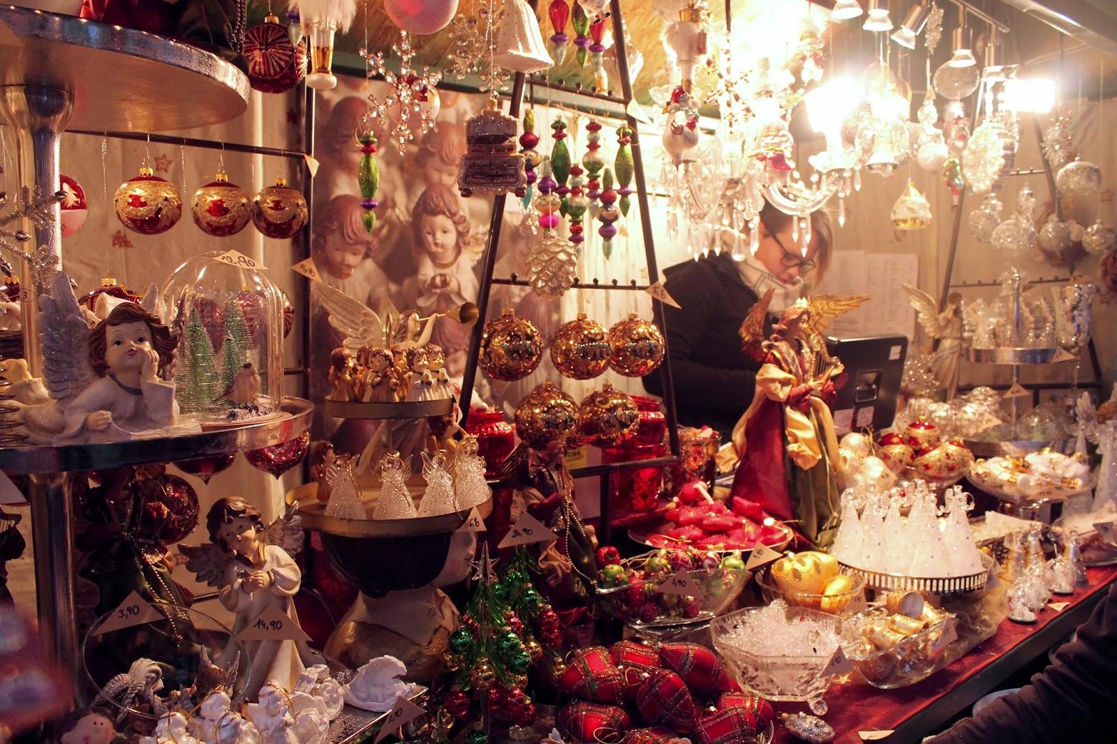 Christmas market stall Innsbruck