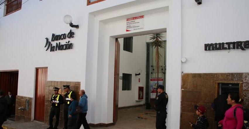 BN: Agencia de Cajamarca del Banco de la Nación reiniciará atención al público el lunes 23 de agosto, tras cumplimiento de medidas sanitarias