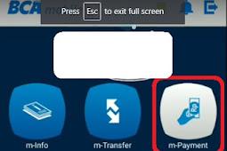 Cara bayar Indihome via M-Banking BCA di tahun 2020