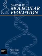 Cover, Journal of Molecular Evolution