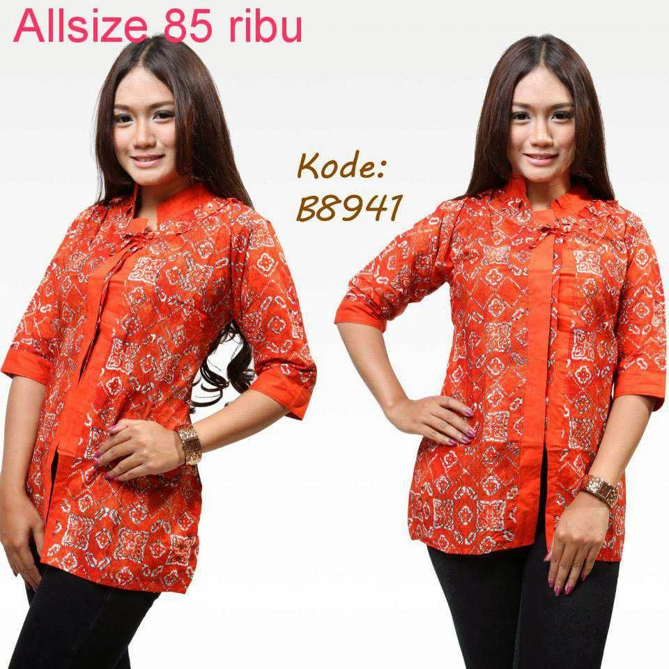 Model Baju Batik Terbaru: Baju Model Batik Terbaru