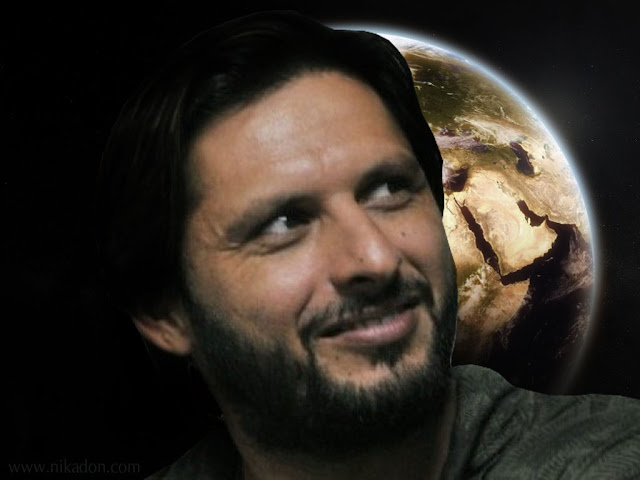 Shahid Afridi Cricketer HD Wallpapers