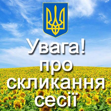 Про скликання чергової LІХ сесії Вишгородської міської ради VIІ скликання