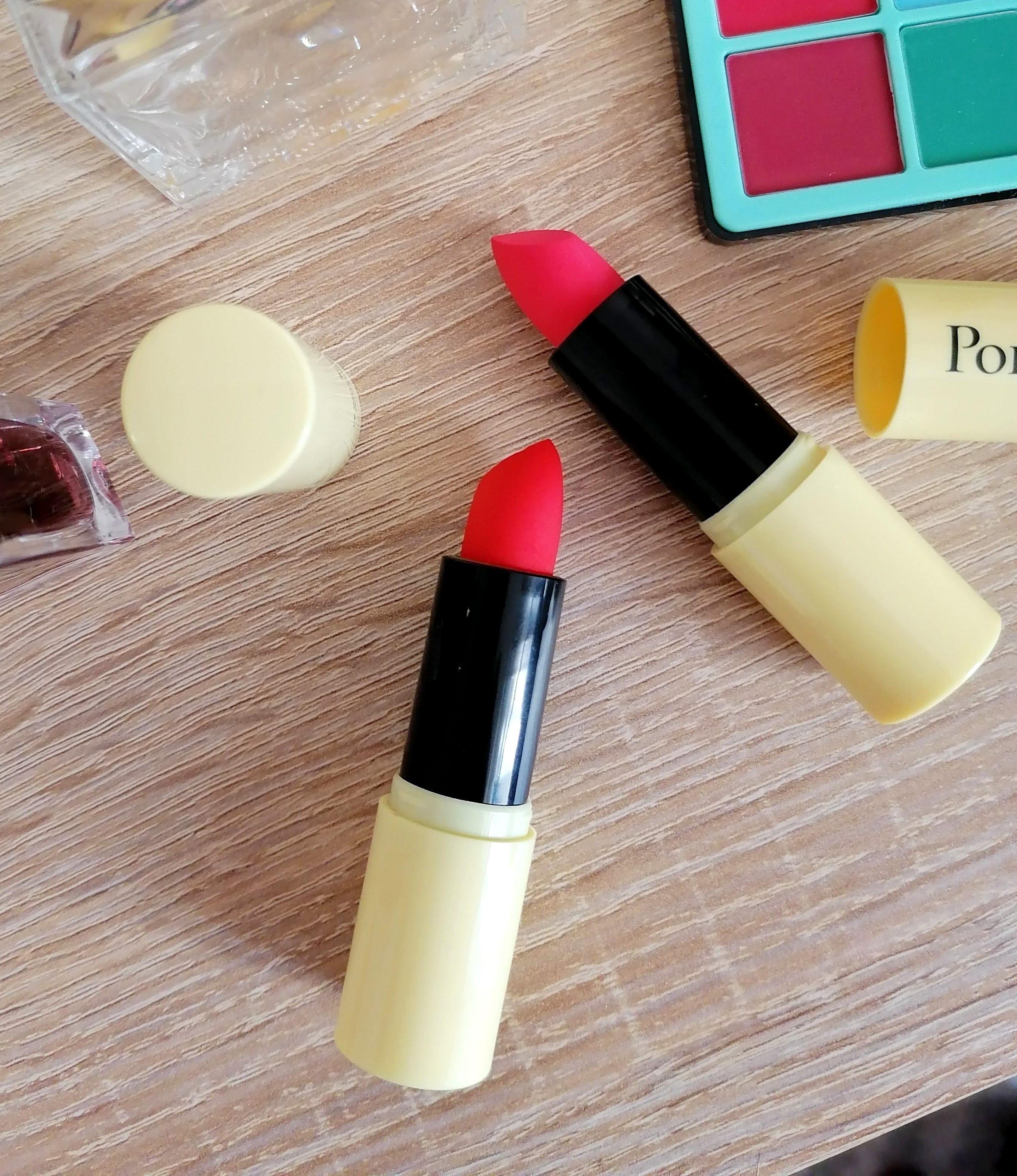 Je découvre POMPONNE, des rouge à lèvres hydratants, naturels et vegans made in France! 💄