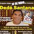 Dedé Santana visita a Paraíba e faz coletiva de imprensa nesta sexta (10) em Itabaiana