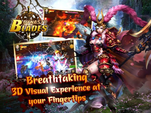 Dynasty Blades Warriors MMO MOD Hight Damage Unlimited Money Code Free Apk Android Latest Update