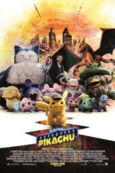 Capa Pokémon – Detetive Pikachu – Bluray 720p e 1080p Dual Áudio (2019) Torrent