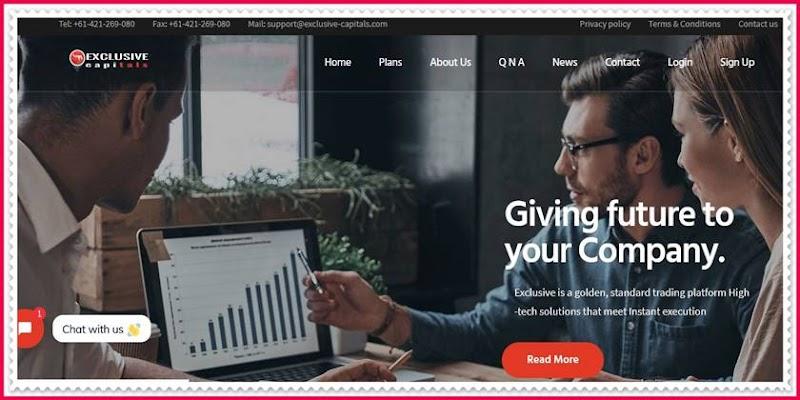 Мошеннический сайт exclusive-capitals.com – Отзывы, развод, платит или лохотрон? Мошенники