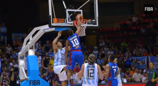 f11f7a5b309 Gabe Norwood of Gilas Pilipinas dunked on Argentina s Luis Scola. I can t  believe I just wrote that sentence. MH
