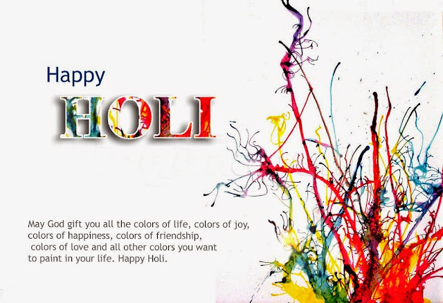 Happy Holi Card Images