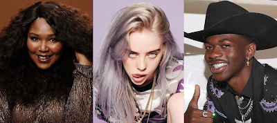 Lizzo, Billie Eilish e Lil Nas X lideram as nomeações do Grammy 2020.