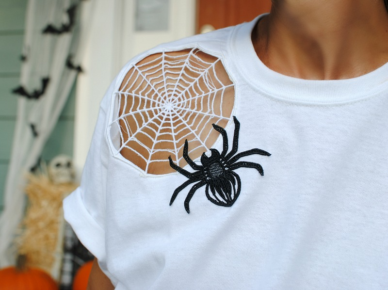 DIY Black Widow Tee