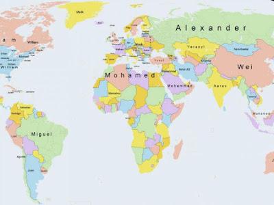 Os nomes mais populares em todo o mundo nos últimos 500 anos - Conheça-os aqui!