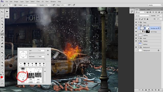 29 Tutorial Photoshop Dramatic Manipulation WAR part 2
