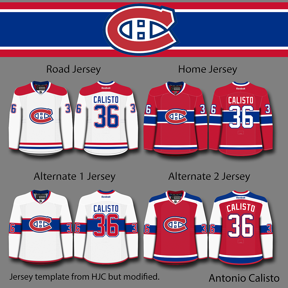 What I Like  It is hard to make a good Habs concept 93d07f303