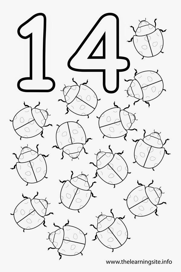 printable coloring pages number 11 | SGBlogosfera. María José Argüeso: DEL 1 AL 20