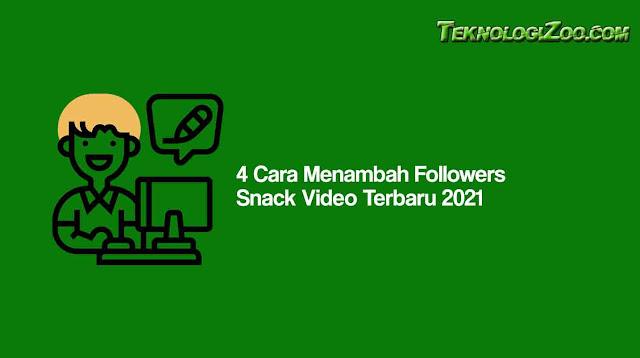 cara menambah view di snack video