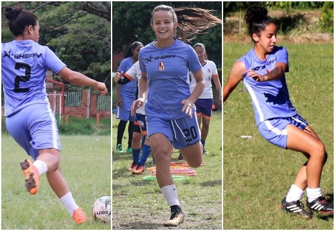 Pérez, Hidalgo y Silveira: Habilitadas en DEPORTES TOLIMA para su debut como local en la Liga Femenina 2019