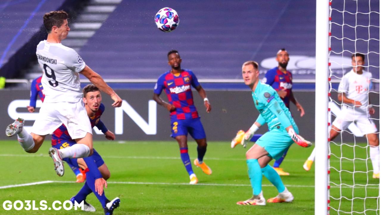 اهداف مباراة برشلونة وبايرن ميونخ