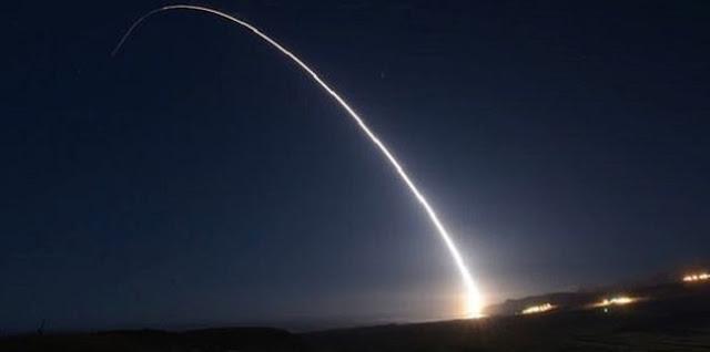 AS Uji Coba Rudal Antarbenua Berkemampuan Nuklir Minuteman III