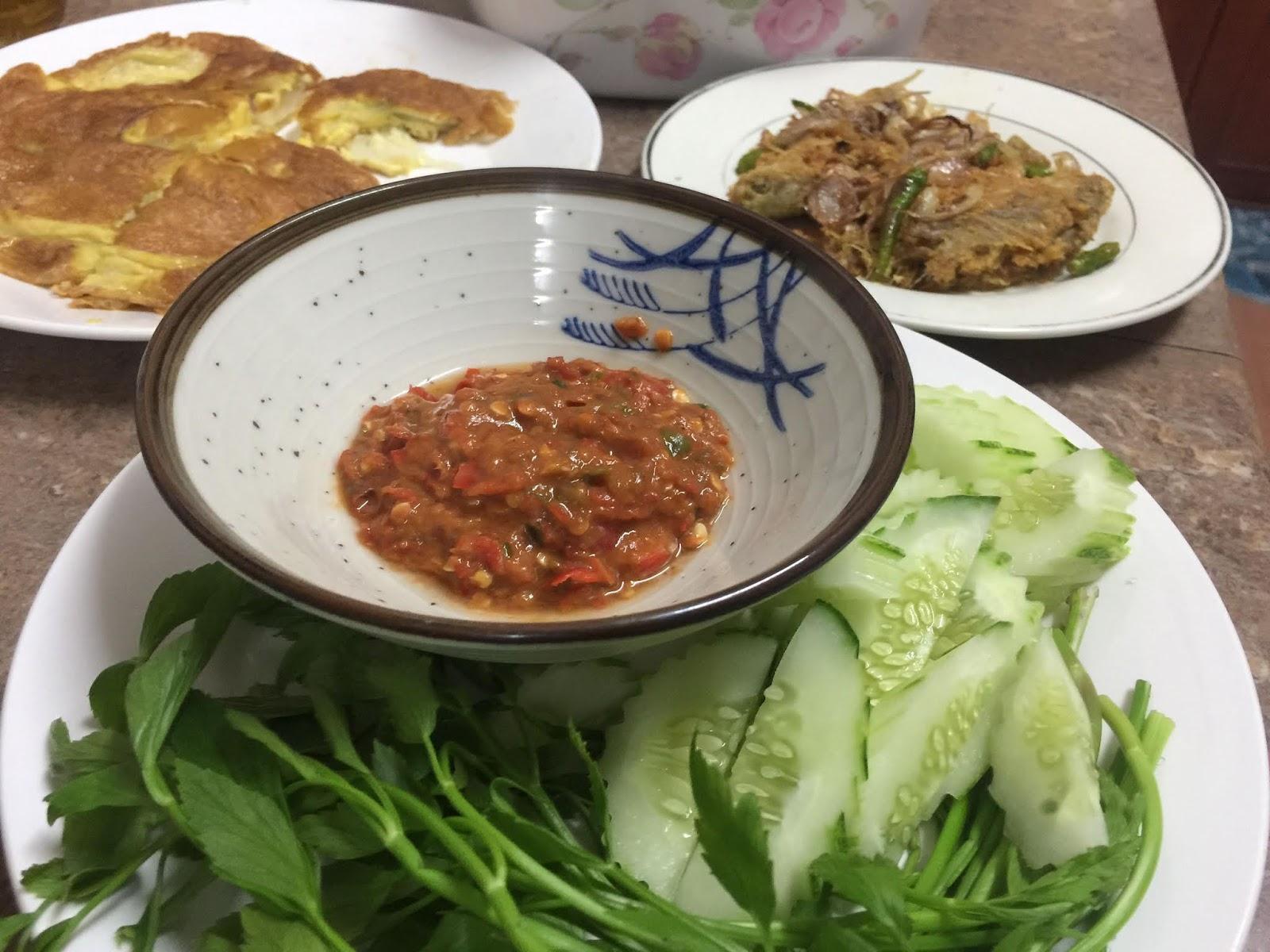 khasiat ulam-ulaman, hidangan ulam-ulaman, masakan ulam-ulaman