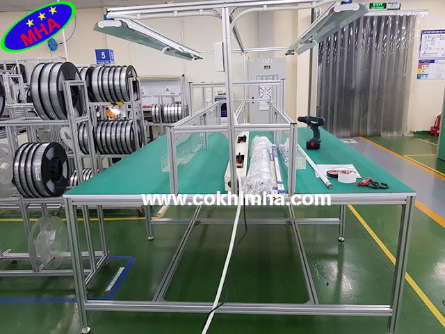 Bàn thao tác công nghiệp - Công ty MHA