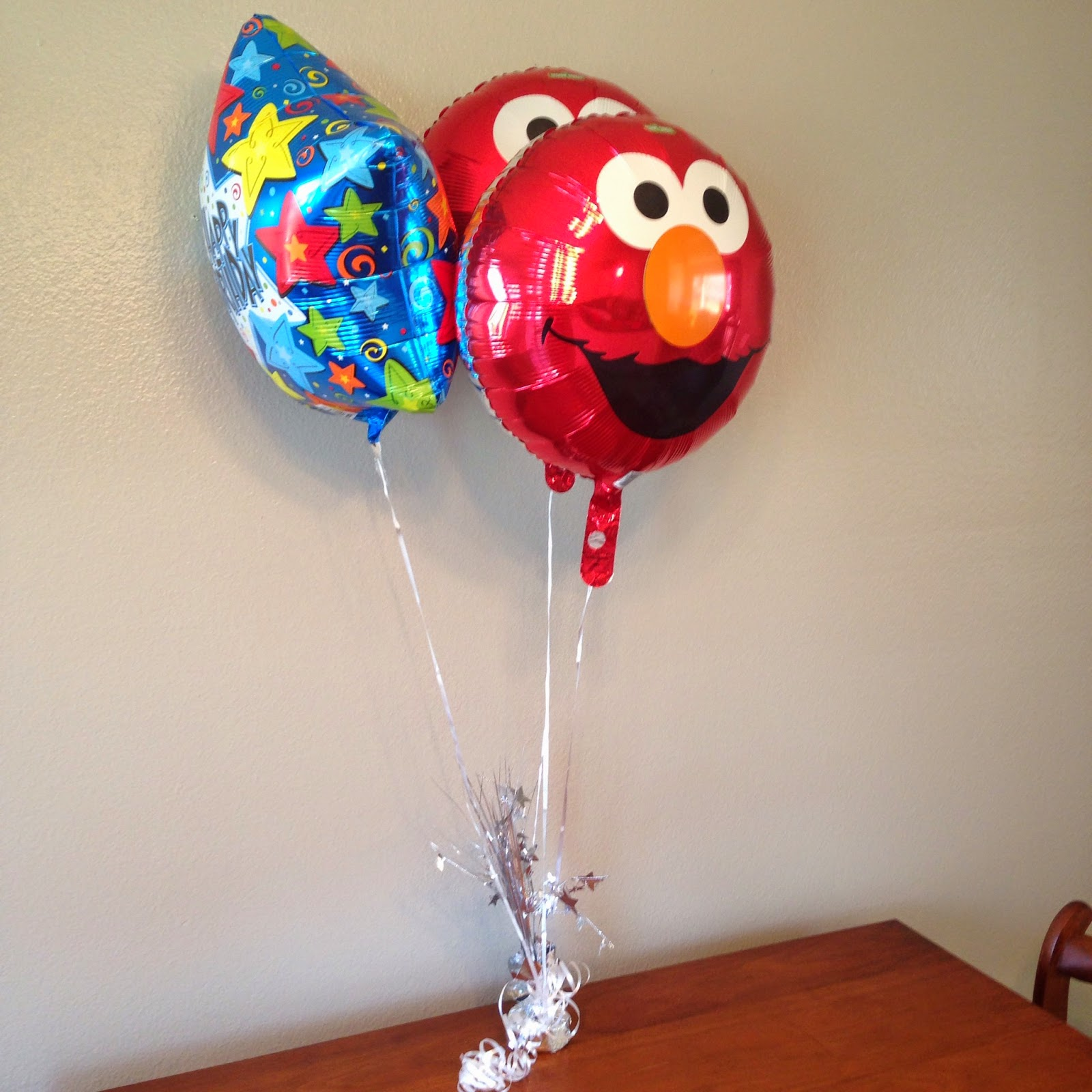 Bybmg: Wesley's Simple Elmo Birthday Party And Tuesday