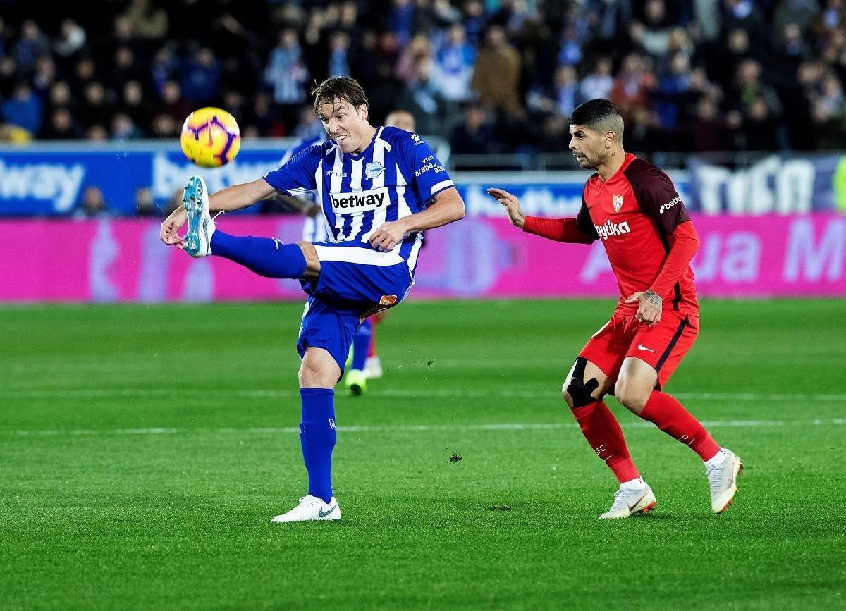 نتيجة مباراة اشبيلية وديبورتيفو ألافيس بتاريخ 02-02-2020 الدوري الاسباني