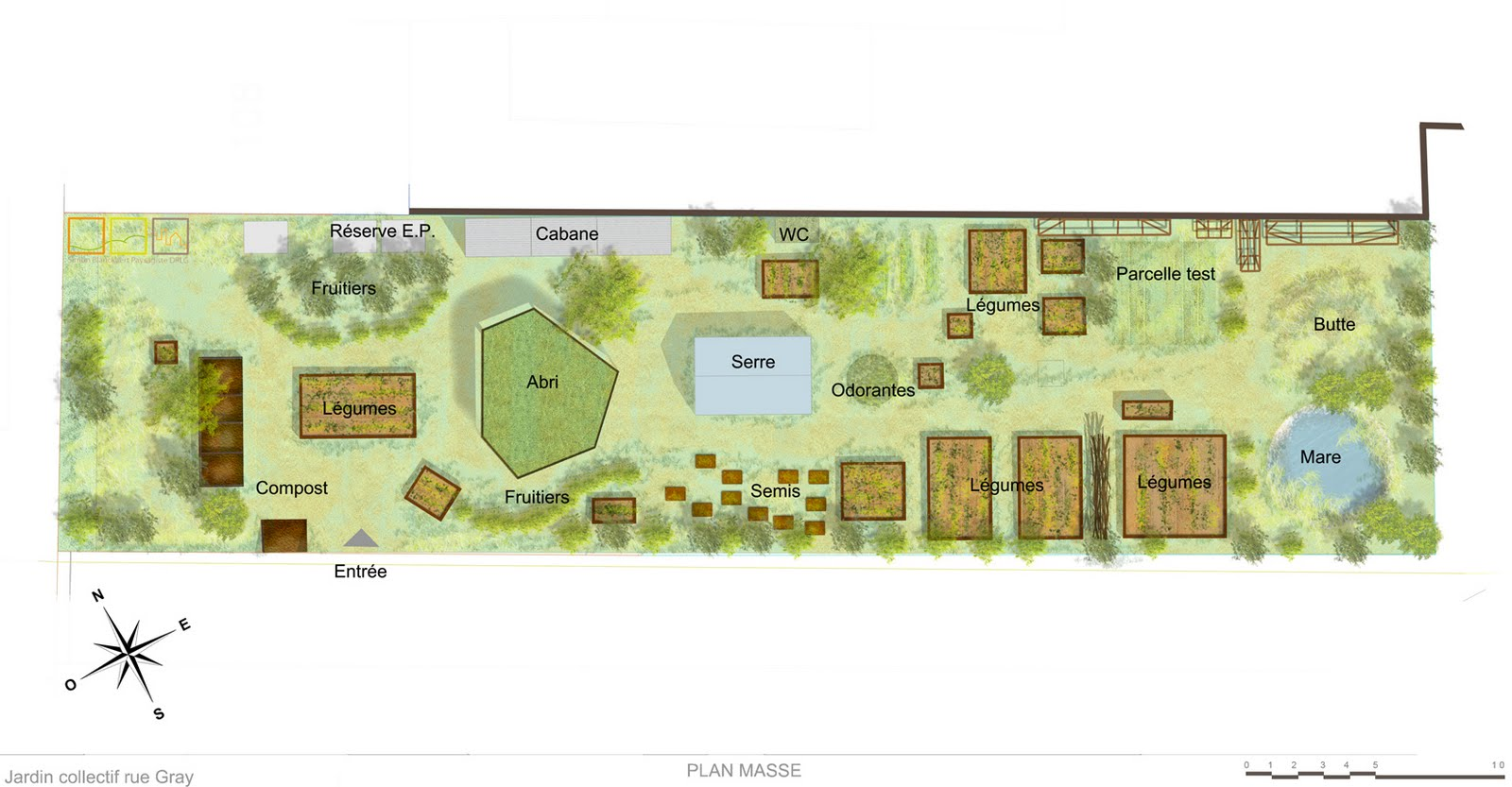 jardin collectif de la rue gray. Black Bedroom Furniture Sets. Home Design Ideas