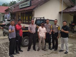 Polsek X Koto Diateh dan Sat Reskrim Polres Solok Kota Ungkap Curanmor di Sulit Air