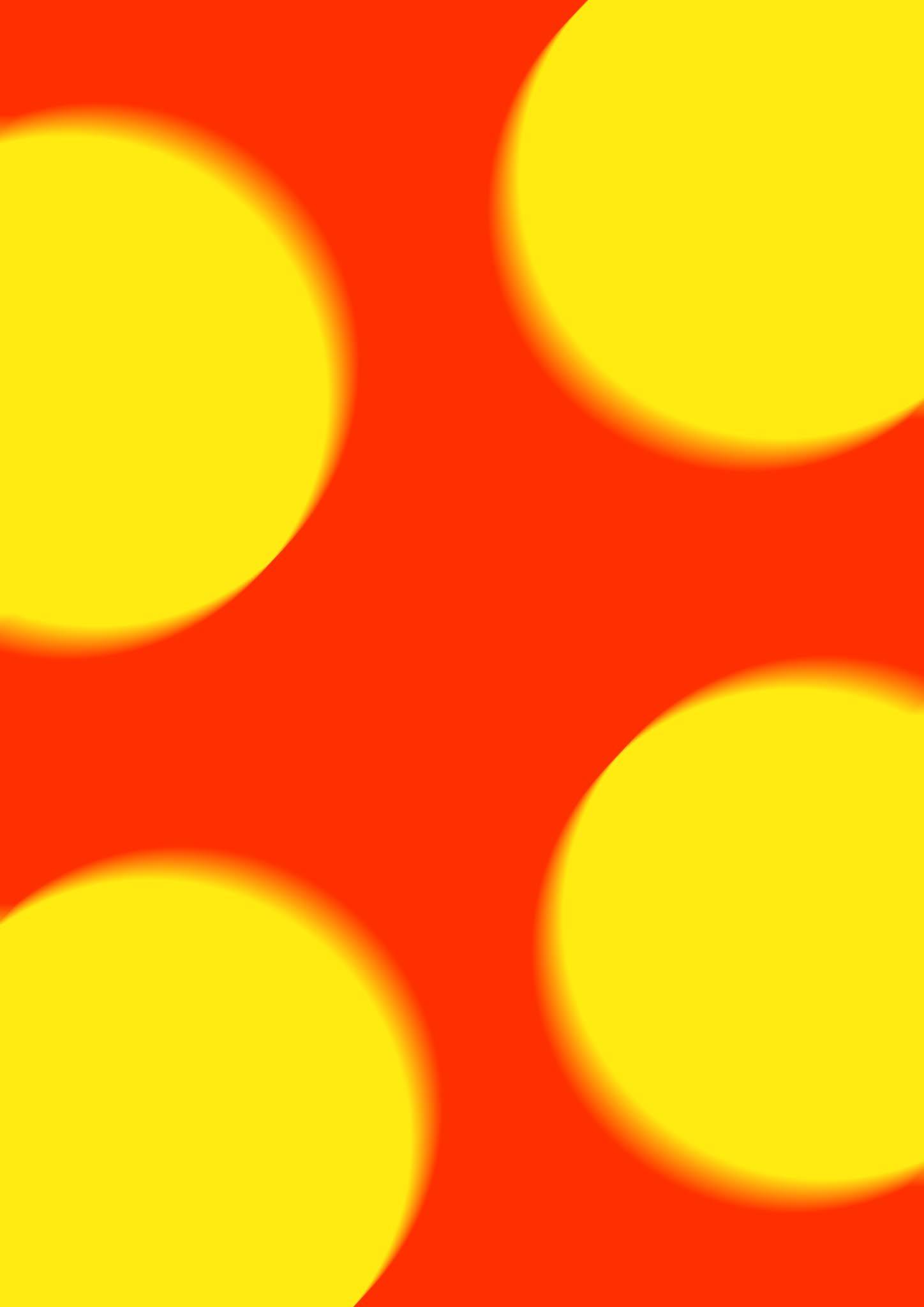yellow ball blur
