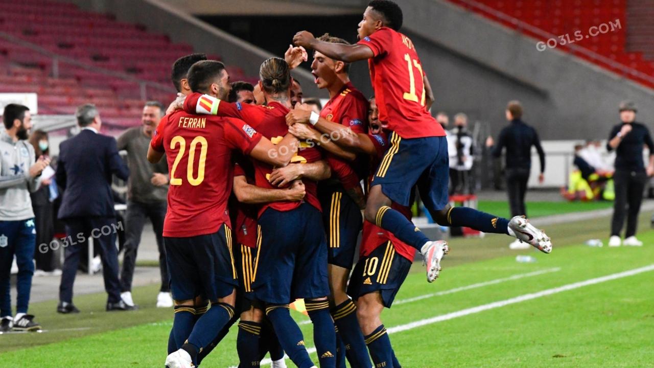 اسبانيا ضد المانيا