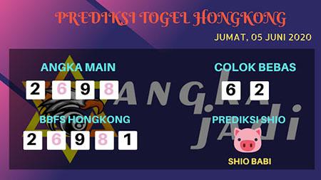 Prediksi HK Jumat 05 Juni 2020 - Bocoran Togel Hongkong