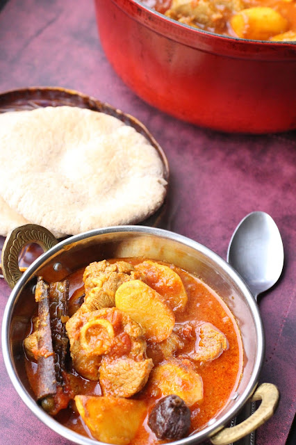 curry du cachemire navet agneau