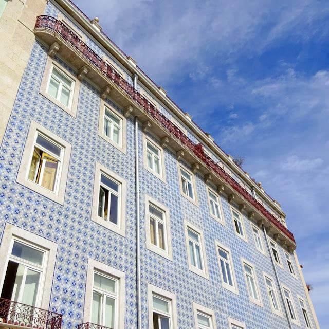 Tiled Building in Lisbon