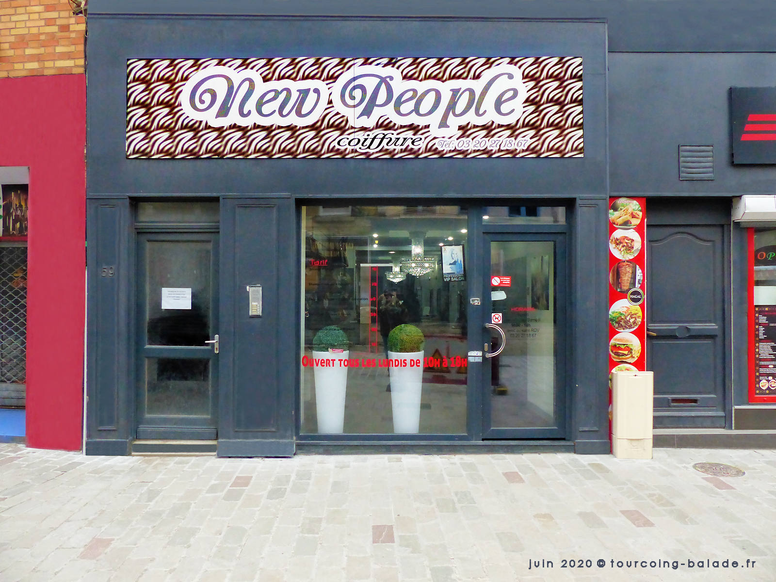 New People Coiffure, Tourcoing Centre, 2020