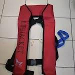 Distributor Pelampung Life Jacket Marlin co2 Automatic