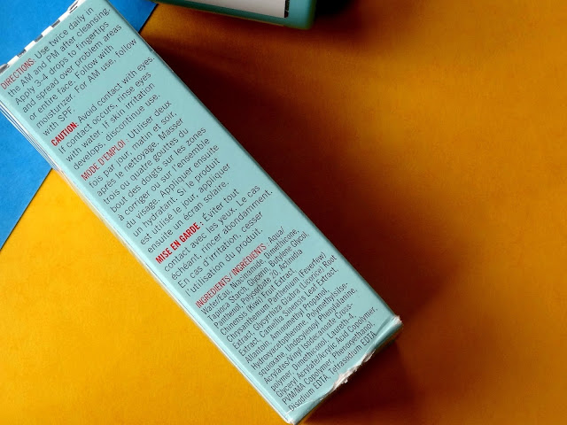 First Aid Beauty Facial Radiance Niacinamide Dark Spot Serum Ingredients